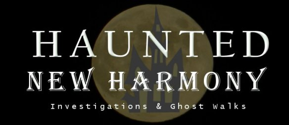 Haunted New Harmony Logo
