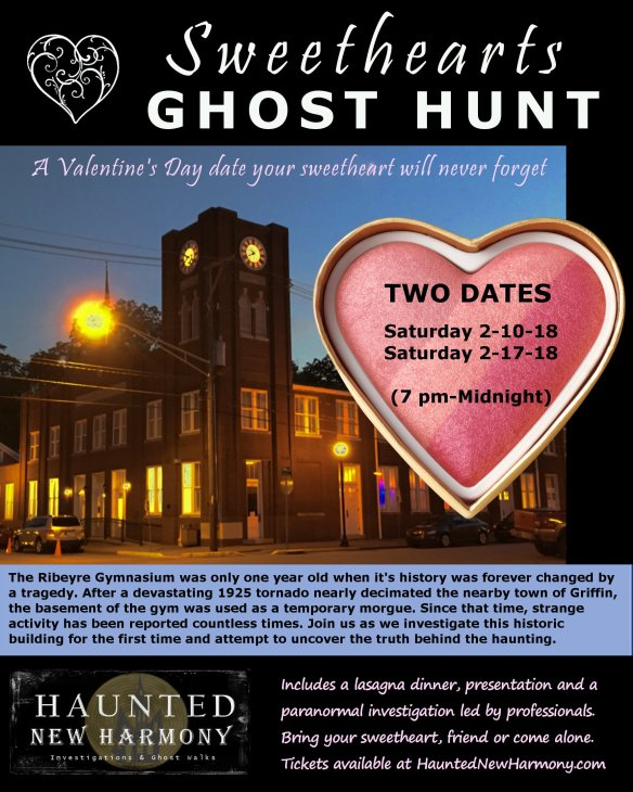 Sweethearts Ghost Hunt poster