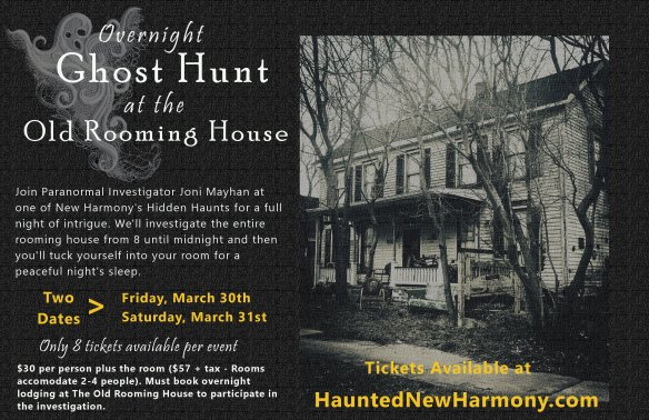 Ghost Hunt at the Old Rooming House poster